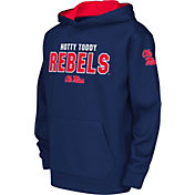 Colosseum Youth Ole Miss Rebels Blue Fleece Hoodie
