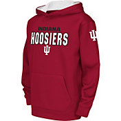 Colosseum Youth Indiana Hoosiers Crimson Fleece Hoodie