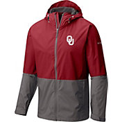 Columbia Men's Oklahoma Sooners Crimson/Grey Roan Mountain Jacket