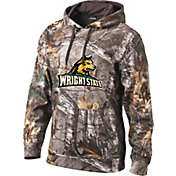Columbia Men's Wright State Raiders Camo Pullover Hoodie