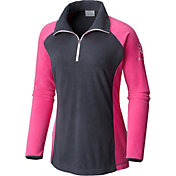 Columbia Women's Tested Tough In Pink Half Zip