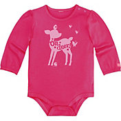 Carhartt Infant Girls' Oh Deer Onesie