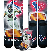 For Bare Feet Houston Texans J. J. Watt Player Crew Socks