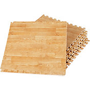 Fitness Gear 24 Square Foot Faux Pine Studio Floorguard
