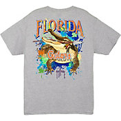 Guy Harvey Men's Florida Gators Grey T-Shirt