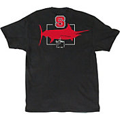 Guy Harvey Men's NC State Wolfpack Black Logo T-Shirt