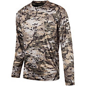 Huntworth Men's Lightweight Long Sleeve Camo Shirt
