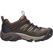 KEEN Men's Lansing Low Steel Toe Work Shoes