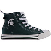 Skicks Michigan State Spartans High Top Sneaker