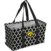 Iowa Hawkeyes Quatrefoil Picnic Caddy