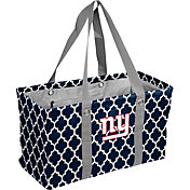 New York Giants Quatrefoil Picnic Caddy