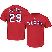 Majestic Boys' Texas Rangers Adrian Beltre #29 Red T-Shirt