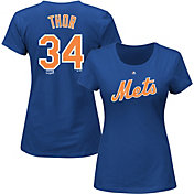 "Majestic Women's New York Mets Noah Syndergaard ""Thor"" #34 Royal T-Shirt"