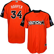 Majestic Men's 2017 National League Bryce Harper Home Run Derby Cool Base Jersey
