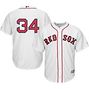 Majestic Men's Replica Boston Red Sox David Ortiz #34 Cool Base Home White Jersey