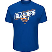 Majestic Men's New York Islanders Home Ice Advantage Blue T-Shirt