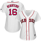 Majestic Women's Replica Boston Red Sox Andrew Benintendi #16 Cool Base Home White Jersey