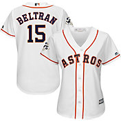 Majestic Women's 2017 World Series Replica Houston Astros Carlos Beltran Cool Base Home White Jersey
