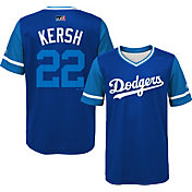 Majestic Youth Los Angeles Dodgers Clayton Kershaw 'Kersh' MLB Players Weekend Jersey Top