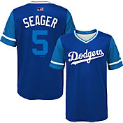 Majestic Youth Los Angeles Dodgers Corey Seager 'Seager' MLB Players Weekend Jersey Top
