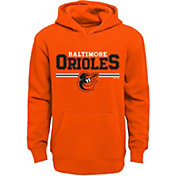Majestic Youth Baltimore Orioles Orange MVP Hoodie