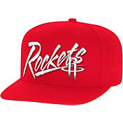Mitchell & Ness Men's Houston Rockets Adjustable Snapback Hat