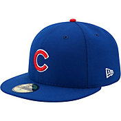 New Era Men's Chicago Cubs 59Fifty Game Royal Authentic Hat