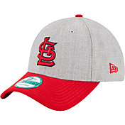 New Era Men's St. Louis Cardinals 9Forty Grey Adjustable Hat