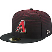 New Era Men's Arizona Diamondbacks 59Fifty Game Black Authentic Hat