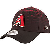New Era Men's Arizona Diamondbacks 9Forty Black Adjustable Hat