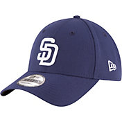 New Era Men's San Diego Padres 9Forty Navy Adjustable Hat