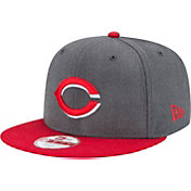New Era Men's Cincinnati Reds 9Fifty Grey Adjustable Hat