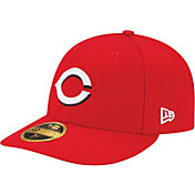 New Era Men's Cincinnati Reds 59Fifty Home Red Low Crown Authentic Hat