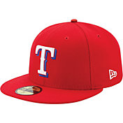 New Era Men's Texas Rangers 59Fifty Alternate Red Authentic Hat