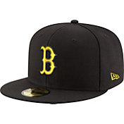 New Era Men's Boston Red Sox 59Fifty City Pride Black/Gold Fitted Hat