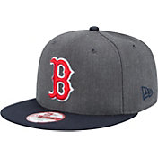 New Era Men's Boston Red Sox 9Fifty Grey Adjustable Hat