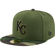 New Era Men's Kansas City Royals 59Fifty 2017 Memorial Day Camo Authentic Hat