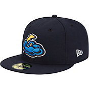 New Era Men's Trenton Thunder 59Fifty Navy Authentic Hat