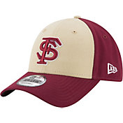 New Era Men's Florida State Seminoles Garnet/Gold The League Blocked 9FORTY Adjustable Hat