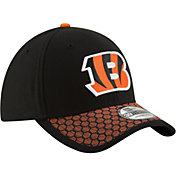 New Era Men's Cincinnati Bengals Sideline 2017 On-Field 39Thirty Stretch Fit Hat