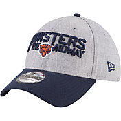 New Era Men's Chicago Bears 2018 NFL Draft 39Thirty Stretch Fit Grey Hat
