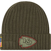 New Era Men's Kansas City Chiefs Salute to Service 2017 Knit Hat