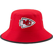 New Era Men's Kansas City Chiefs 2017 Training Camp Red Bucket Hat