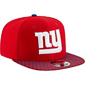 New Era Men's New York Giants Sideline 2017 On-Field 9Fifty Snapback Adjustable Hat