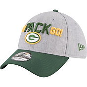 New Era Men's Green Bay Packers 2018 NFL Draft 39Thirty Stretch Fit Grey Hat