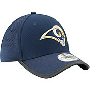 New Era Men's Los Angeles Rams 2017 Training Camp 39Thirty Navy Flex Hat