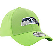 New Era Men's Seattle Seahawks Color Rush 2017 On-Field 39Thirty Stretch Fit Hat