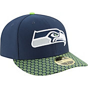New Era Men's Seattle Seahawks Sideline 2017 On-Field 59Fifty Fitted Hat