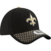 New Era Men's New Orleans Saints Sideline 2017 On-Field 39Thirty Stretch Fit Hat