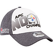 New Era Men's Pittsburgh Steelers AFC North Division Champs 9Forty Adjustable Hat